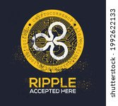 creative ripple icon with text  ... | Shutterstock .eps vector #1992622133