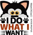 cat lover vector illustration... | Shutterstock .eps vector #1992624986