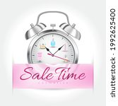 sale time cosmetics concept.... | Shutterstock .eps vector #1992625400