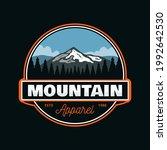 outdoor mountain explorer ... | Shutterstock .eps vector #1992642530