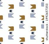 masculine geometric seamless... | Shutterstock .eps vector #1992657353