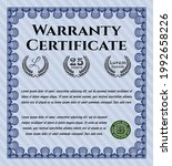 warranty. sophisticated design. ... | Shutterstock .eps vector #1992658226