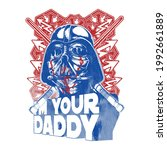 i'm your daddy slogan t shirt... | Shutterstock .eps vector #1992661889