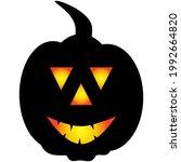halloween pumpkin icon. autumn... | Shutterstock .eps vector #1992664820