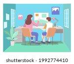isometric illustration concept. ... | Shutterstock .eps vector #1992774410