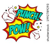 comic speech bubbles with text...   Shutterstock .eps vector #1992789293