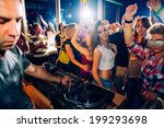 party people | Shutterstock . vector #199293698