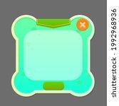 game ui button window pop up...