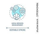 local services development... | Shutterstock .eps vector #1993043486