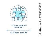 local authorities initiatives...   Shutterstock .eps vector #1993043489