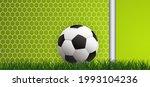 goalpost and goal net texture... | Shutterstock .eps vector #1993104236