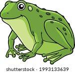 cartoon vector smiling green...   Shutterstock .eps vector #1993133639