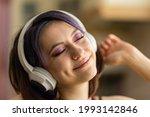 a beautiful young brunette girl ...   Shutterstock . vector #1993142846