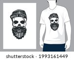 hold fast no shave t shirt...   Shutterstock .eps vector #1993161449