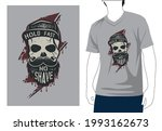 hold fast no shave t shirt...   Shutterstock .eps vector #1993162673