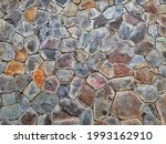 Natural Rock Formation On A Wall
