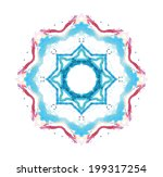 star abstraction | Shutterstock .eps vector #199317254