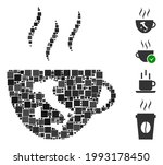 mosaic italian coffee cup icon...   Shutterstock .eps vector #1993178450