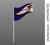 american samoa waving flag on... | Shutterstock .eps vector #1993196720