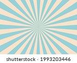 sun burst ray in retro style... | Shutterstock .eps vector #1993203446