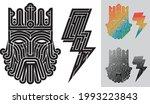 black illustration monochrome...   Shutterstock .eps vector #1993223843