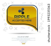 creative ripple icon with text  ... | Shutterstock .eps vector #1993235363