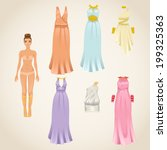 Vector Dress Up Paper Doll...