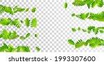 forest leaves vibrant vector... | Shutterstock .eps vector #1993307600