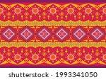 geometric oriental tribal... | Shutterstock .eps vector #1993341050