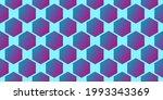 seamless hexagon shapes... | Shutterstock .eps vector #1993343369