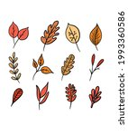 different beautiful plants with ... | Shutterstock .eps vector #1993360586