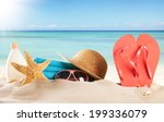 summer concept with swimming... | Shutterstock . vector #199336079