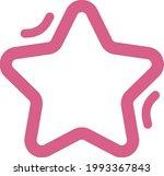 pink space star  illustration ... | Shutterstock .eps vector #1993367843