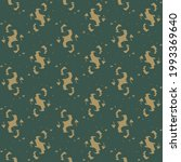 continuous pattern  in beige... | Shutterstock .eps vector #1993369640