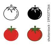 organic fruit round tomato....   Shutterstock .eps vector #1993377266