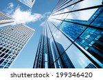 modern business center in...   Shutterstock . vector #199346420
