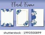 wedding invitation watercolor...   Shutterstock .eps vector #1993500899