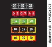 flyer  template  number plate ... | Shutterstock .eps vector #1993526303