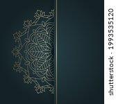 elegant ethnic styled mandal... | Shutterstock .eps vector #1993535120