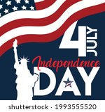 4th july american independence... | Shutterstock .eps vector #1993555520