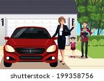 a vector illustration of mother ... | Shutterstock .eps vector #199358756