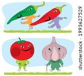cartoon characters depicting...   Shutterstock .eps vector #1993627529