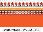 geometric ethnic pattern... | Shutterstock .eps vector #1993658513