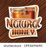 vector logo for natural honey ... | Shutterstock .eps vector #1993694690