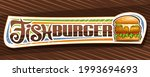 vector banner for fish burger ... | Shutterstock .eps vector #1993694693