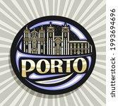 vector logo for porto  black... | Shutterstock .eps vector #1993694696