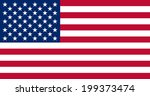 an illustration of the flag of... | Shutterstock . vector #199373474