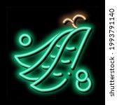 pea pods neon light sign vector.... | Shutterstock .eps vector #1993791140