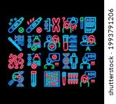 paternity test dna neon light... | Shutterstock .eps vector #1993791206
