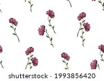 delicate floral print with...